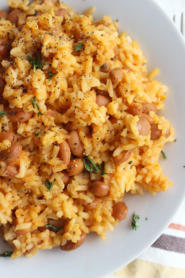 Mexican Rice And Beans  Mexican Rice and Beans Recipe