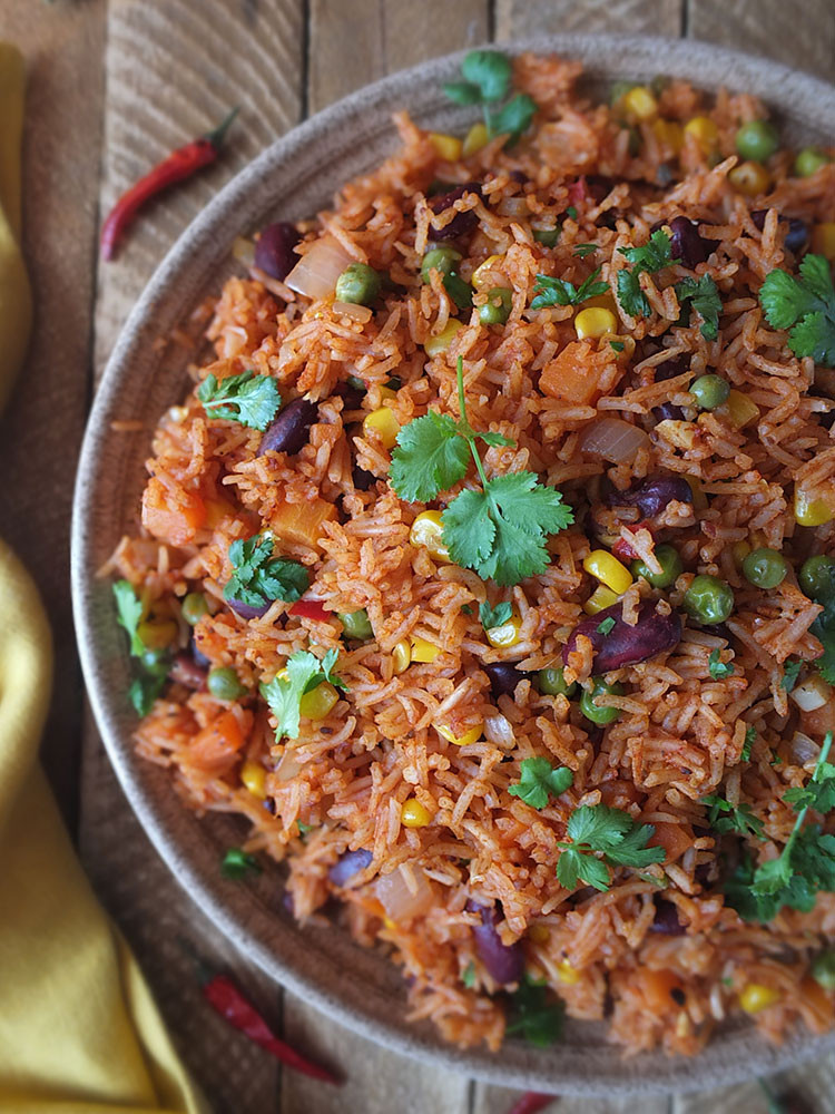 Mexican Rice And Beans  Spicy Mexican Rice and Beans Recipe