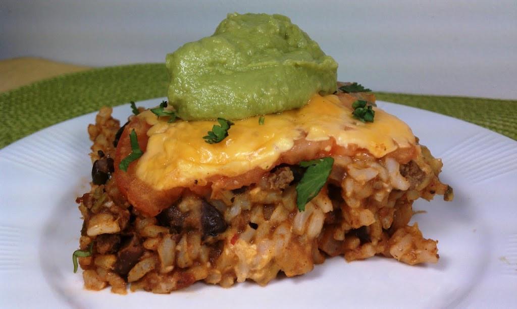 Mexican Rice Casserole  Mexican Rice Casserole Emily Bites