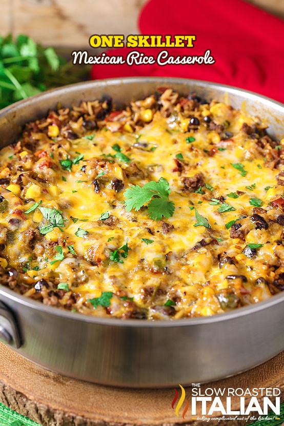 Mexican Rice Casserole  e Pot Mexican Rice Casserole With VIDEO
