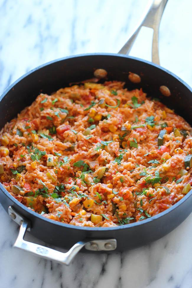 Mexican Rice Casserole  e Pot Mexican Rice Casserole