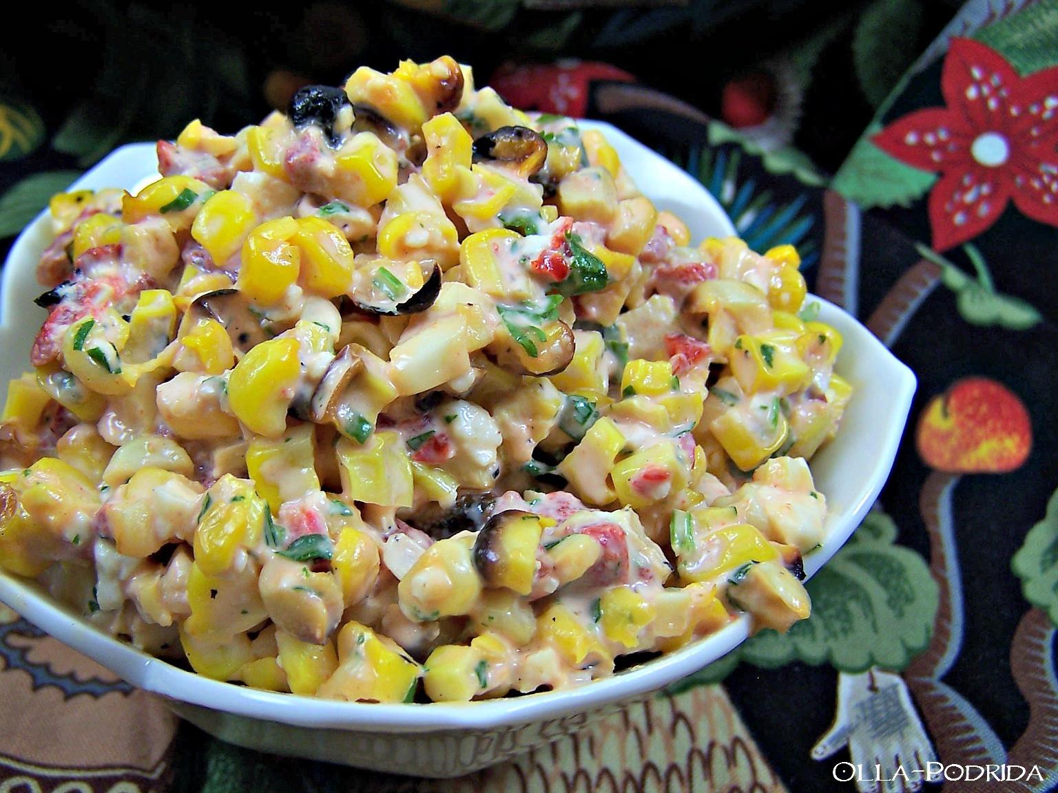 Mexican Street Corn Off The Cob  Olla Podrida Mexican Street Corn f the Cob