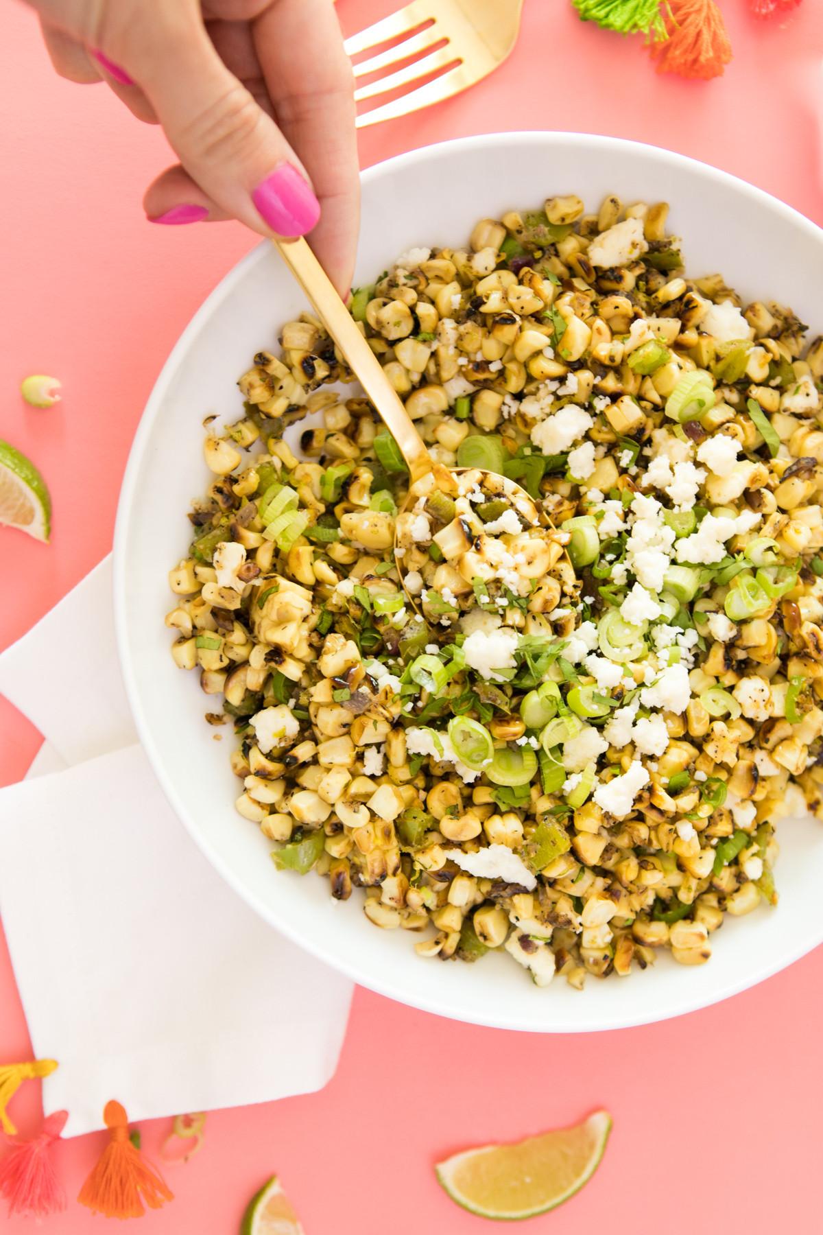 Mexican Street Corn Off The Cob  f the Cob Mexican Street Corn Recipe Sarah Hearts