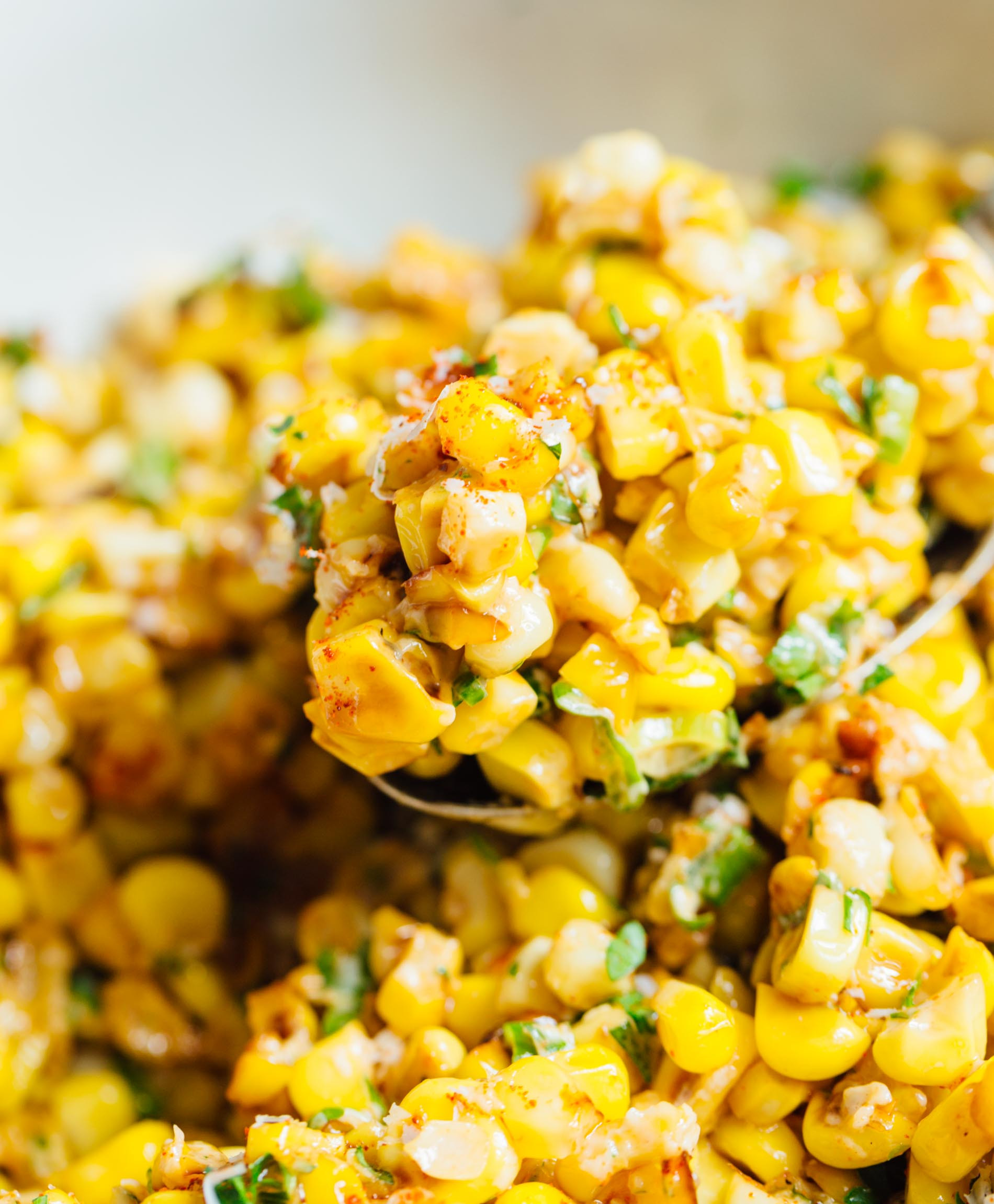 Mexican Street Corn Off The Cob  Mexican Street Corn off the Cob Mexican Street Corn in a