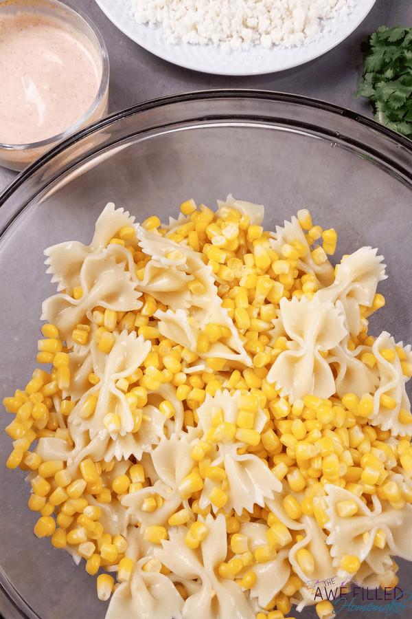 Mexican Street Corn Pasta Salad  Instant Pot Mexican Street Corn Pasta Salad Awe Filled