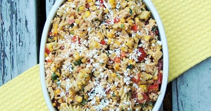Mexican Street Corn Pasta Salad  Elote Mexican Street Corn Pasta Salad