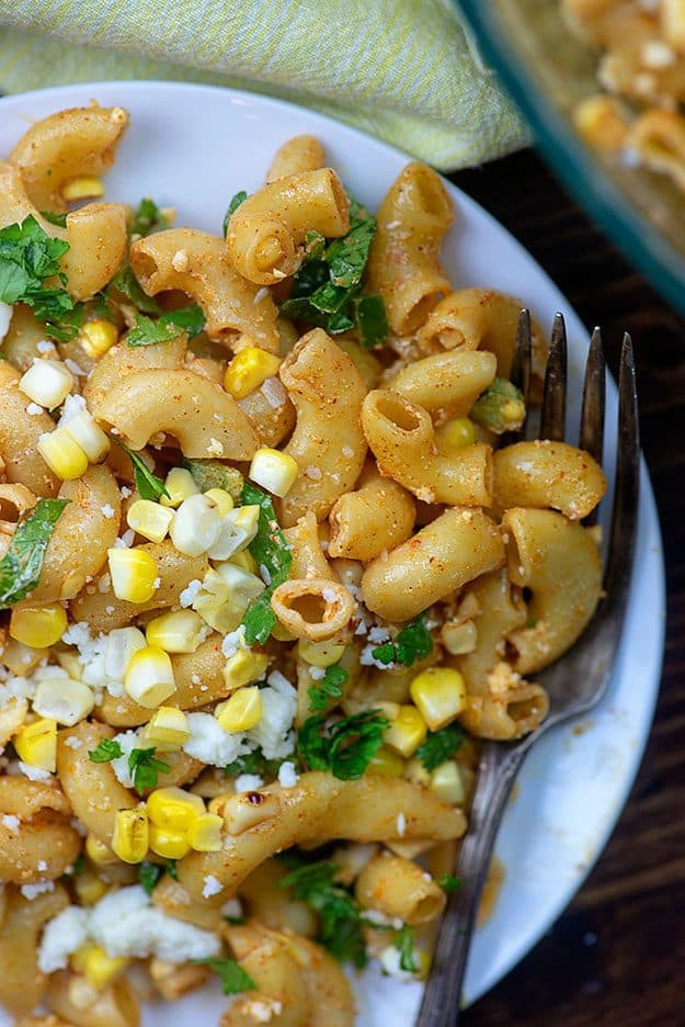 Mexican Street Corn Pasta Salad  Mexican Street Corn Pasta Salad — Buns In My Oven