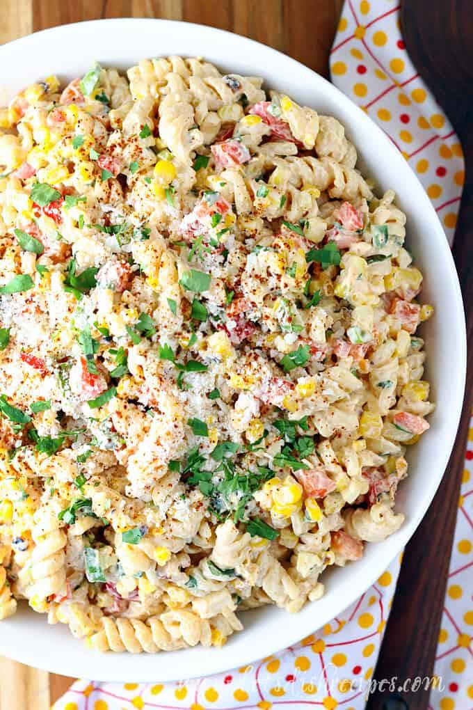 Mexican Street Corn Pasta Salad  Mexican Street Corn Pasta Salad