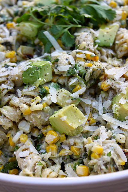 Mexican Street Corn Pasta Salad  Perfecting the Pairing Mexican Street Corn Pasta Salad