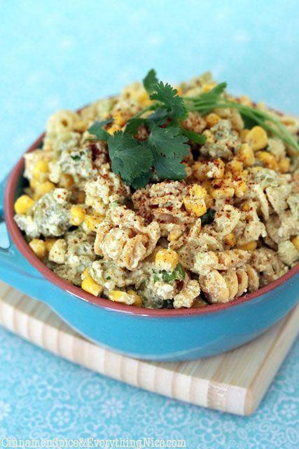 Mexican Street Corn Pasta Salad  Mexican Street Corn Pasta Salad – I Cook Different