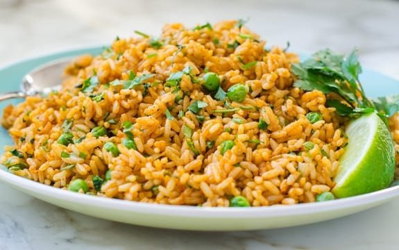 Mexican Yellow Rice Recipe  Mexican Rice Pilaf ce Upon a Chef