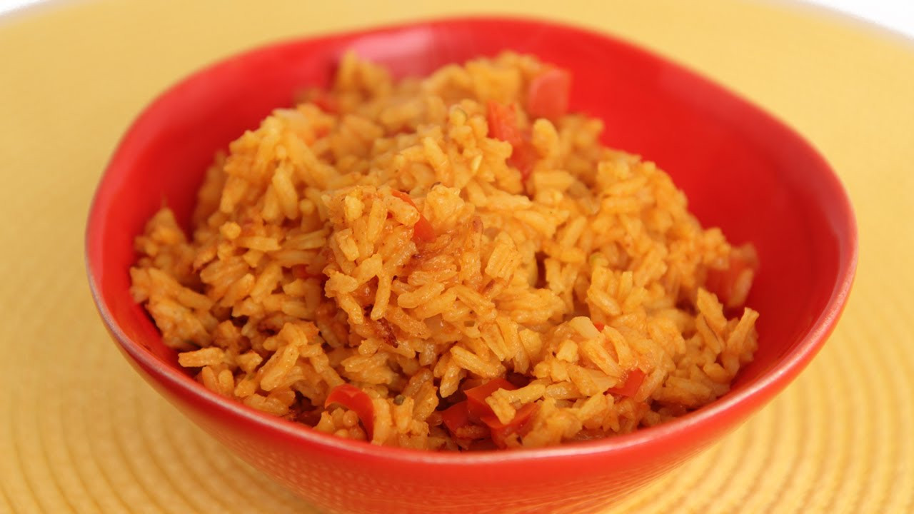 Mexican Yellow Rice Recipe  Mexican Yellow Rice Recipe Laura Vitale Laura in the