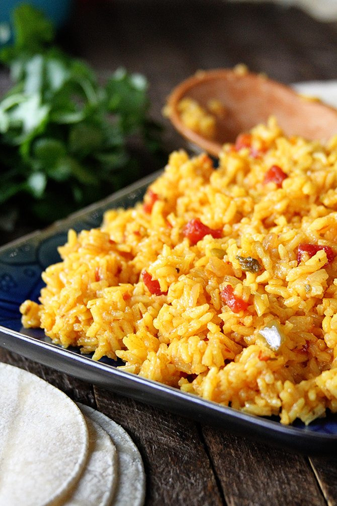 Mexican Yellow Rice Recipe  mexican corn casserole with yellow rice