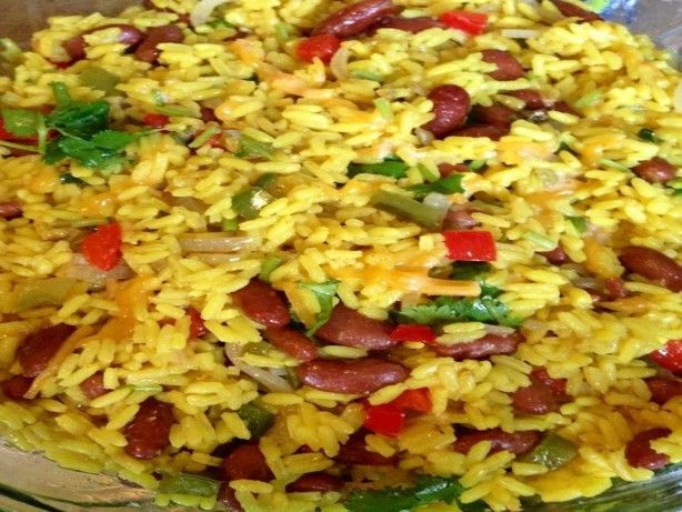 Mexican Yellow Rice Recipe  Mexican Yellow Rice And Black Beans Recipe Food