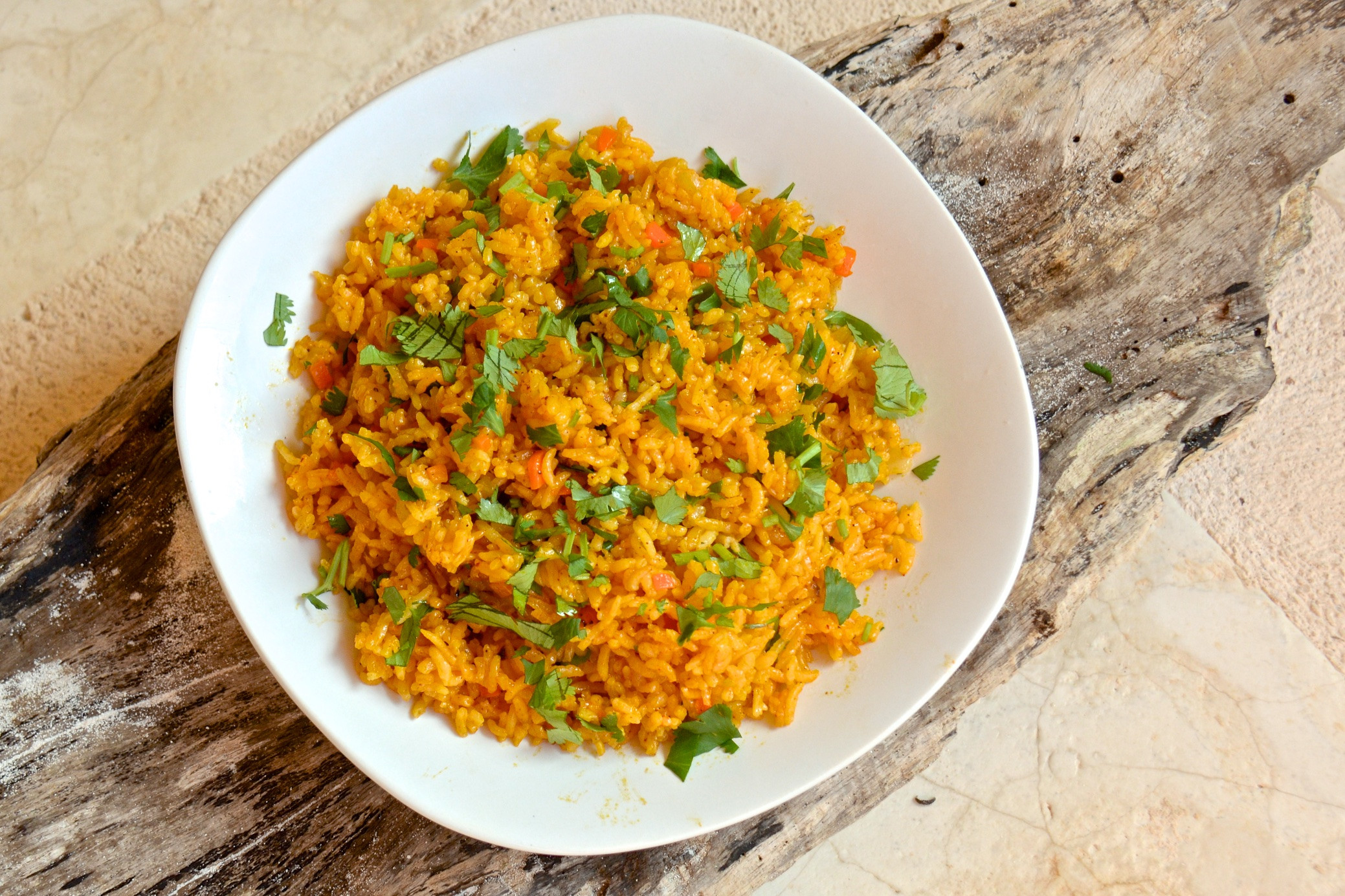 Mexican Yellow Rice Recipe  Mexican yellow rice with achiote