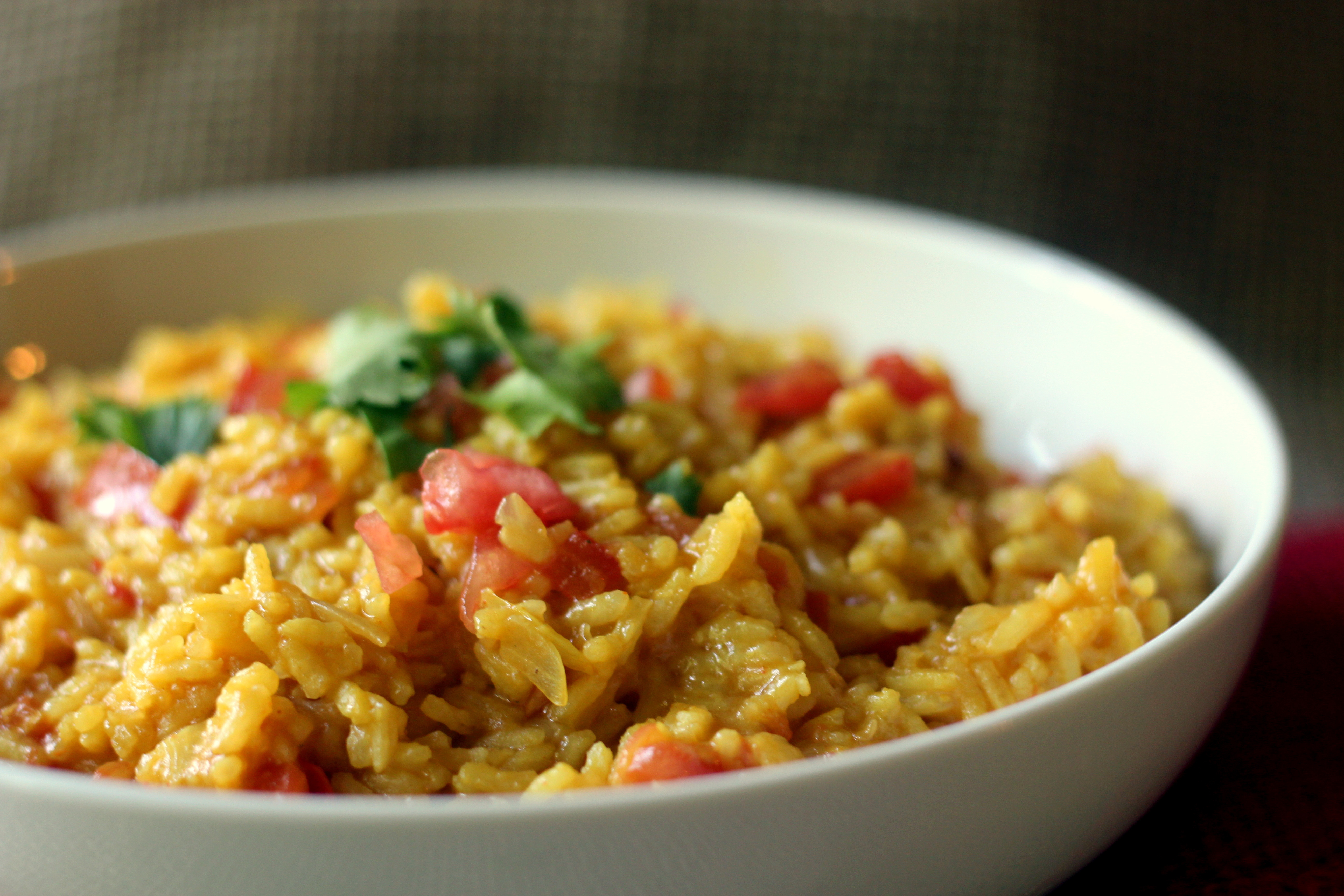 Mexican Yellow Rice Recipe  Mexican Restaurant Style Rice Blackberry Babe
