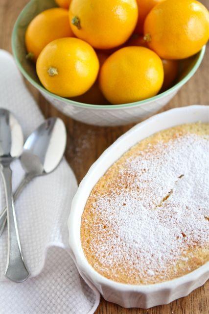 Meyer Lemon Dessert Recipe  Meyer Lemon Pudding Cake Recipe