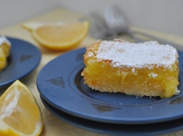Meyer Lemon Dessert Recipe  Meyer Lemon Bars Recipe
