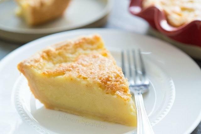 Meyer Lemon Dessert Recipe  Meyer Lemon Buttermilk Pie Recipe
