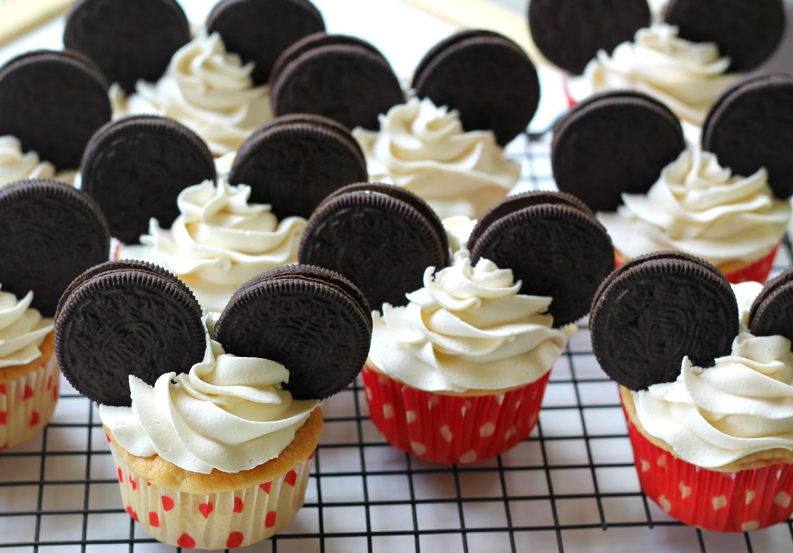 Mickey Mouse Cupcakes  Easy Mickey Mouse Cupcakes Carolina Charm