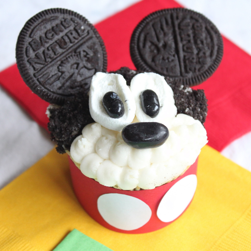 Mickey Mouse Cupcakes  Mickey Mouse Cupcake Decorations Wilton 710 7108 Mickey