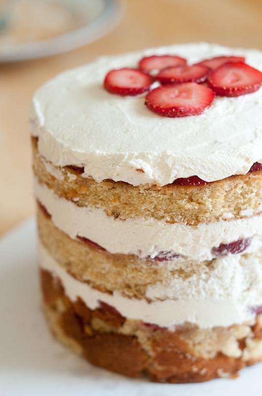 Milk Bar Birthday Cake Recipe  Strawberries and Cream Birthday Cake Momofuku Milk Bar