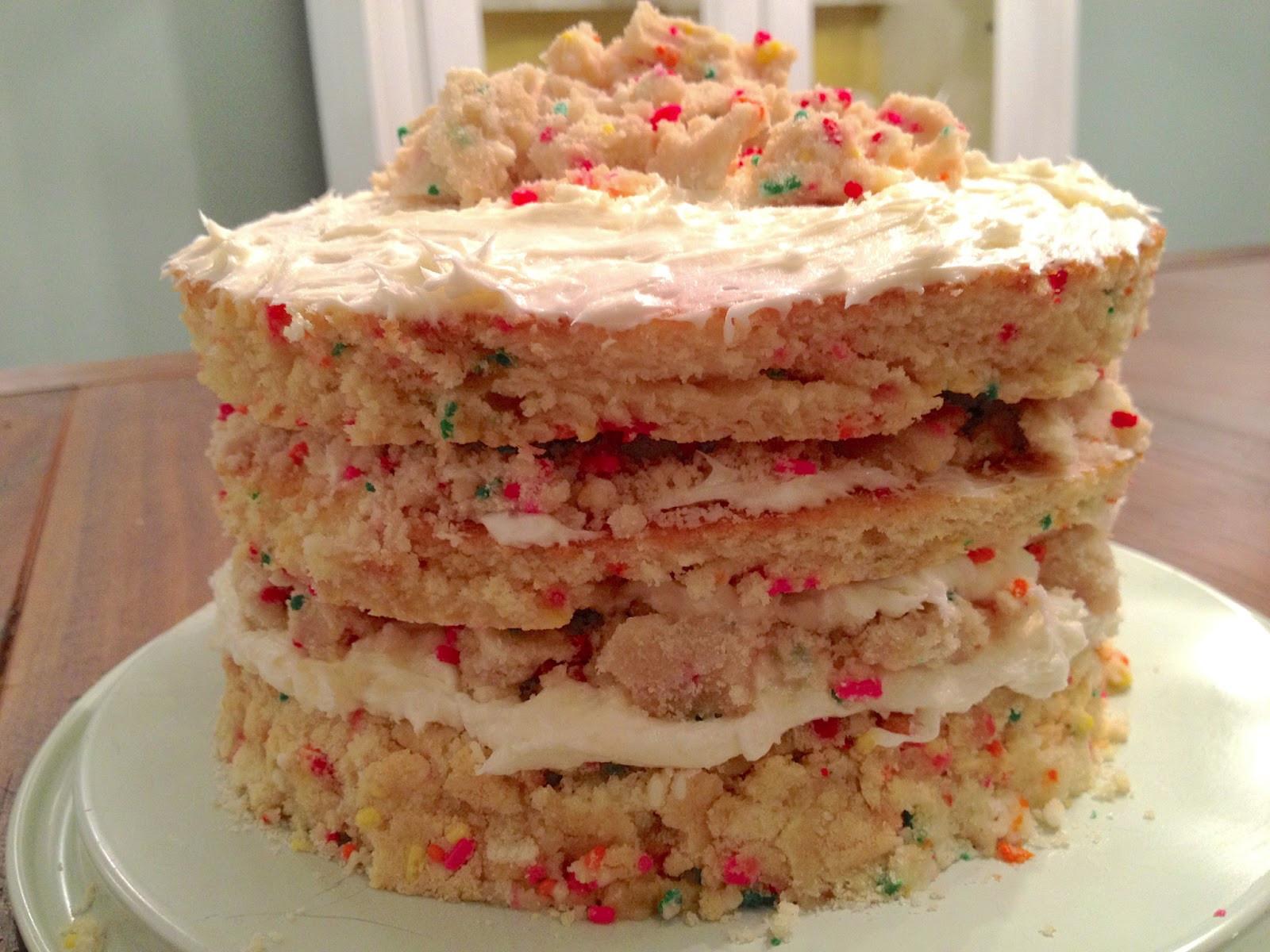 Milk Bar Birthday Cake Recipe  Momofuku Milk Bar Layered Birthday Cake Crackerjack23