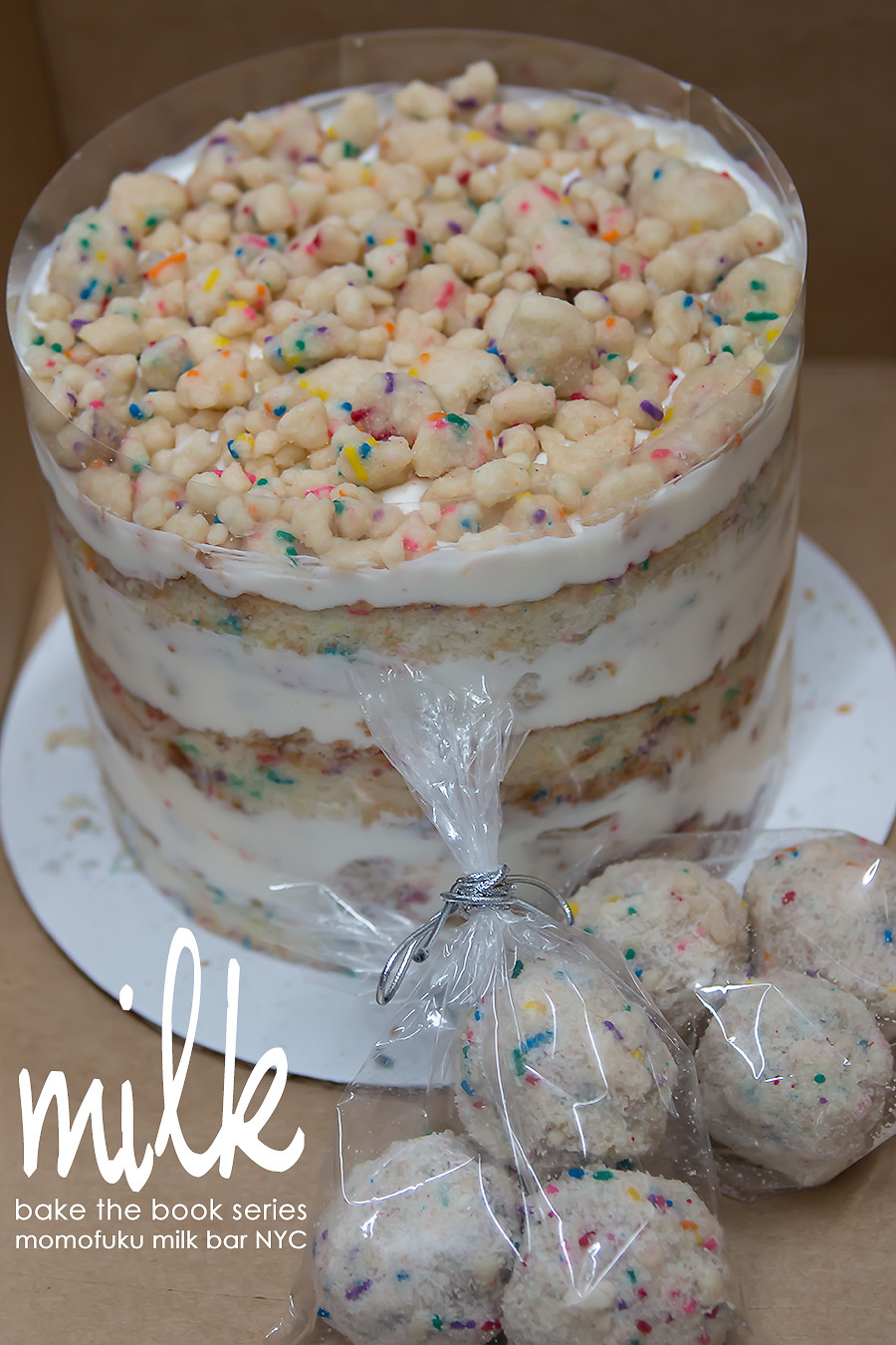 Milk Bar Birthday Cake Recipe  bake the book series momofuku milk bar nyc Bake Love Give