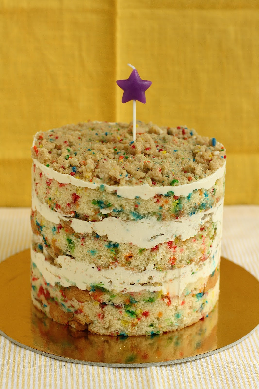 Milk Bar Birthday Cake Recipe  Funfetti Birthday Layer Cake from Momofuku Milk Bar