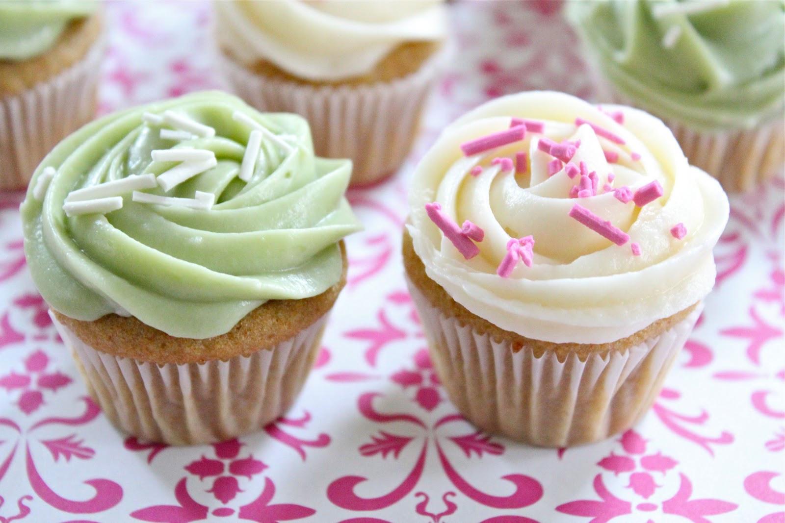 Mini Cupcakes Recipe  healthier mini vanilla cupcakes