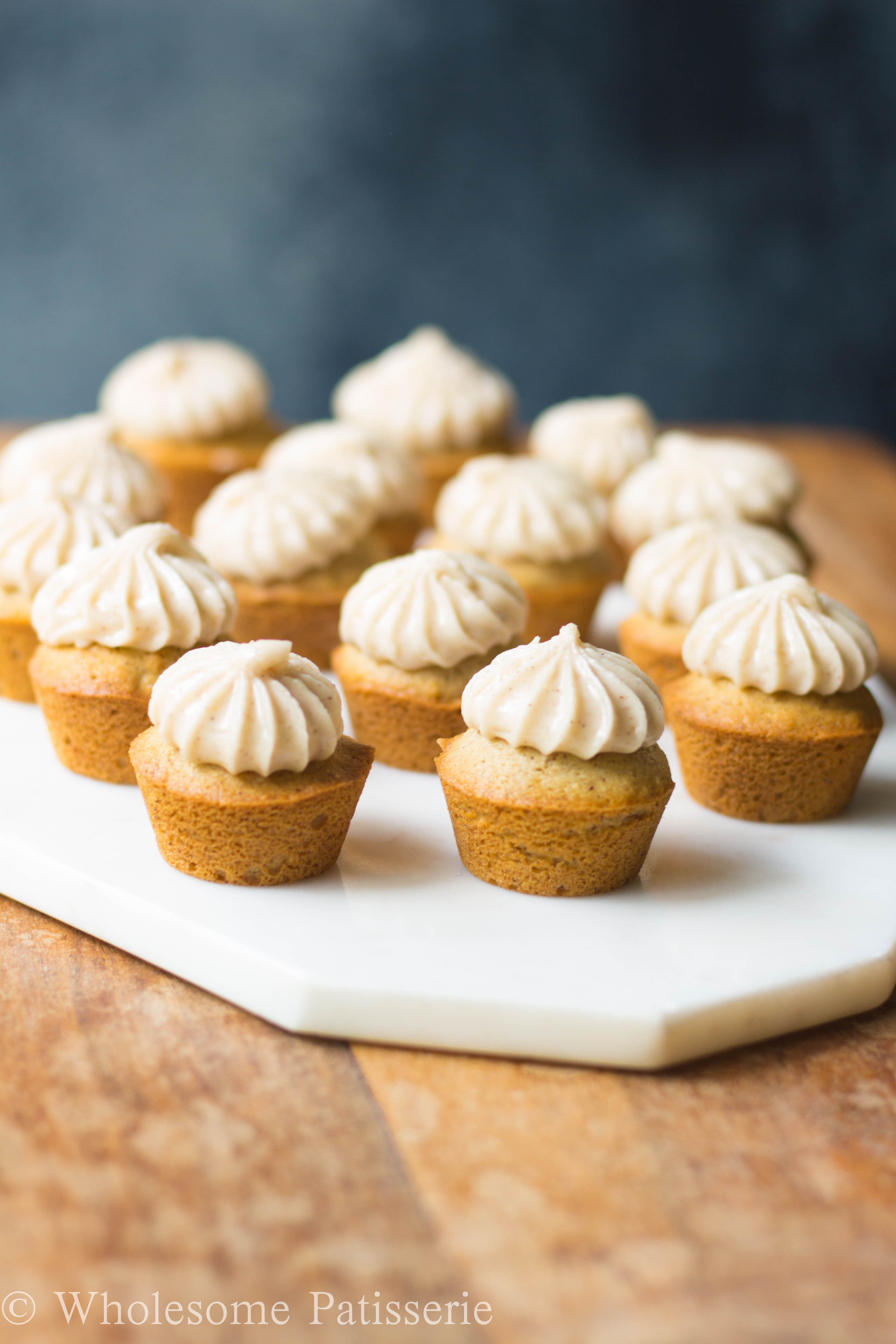 Mini Cupcakes Recipe  Honey Cinnamon Cupcakes