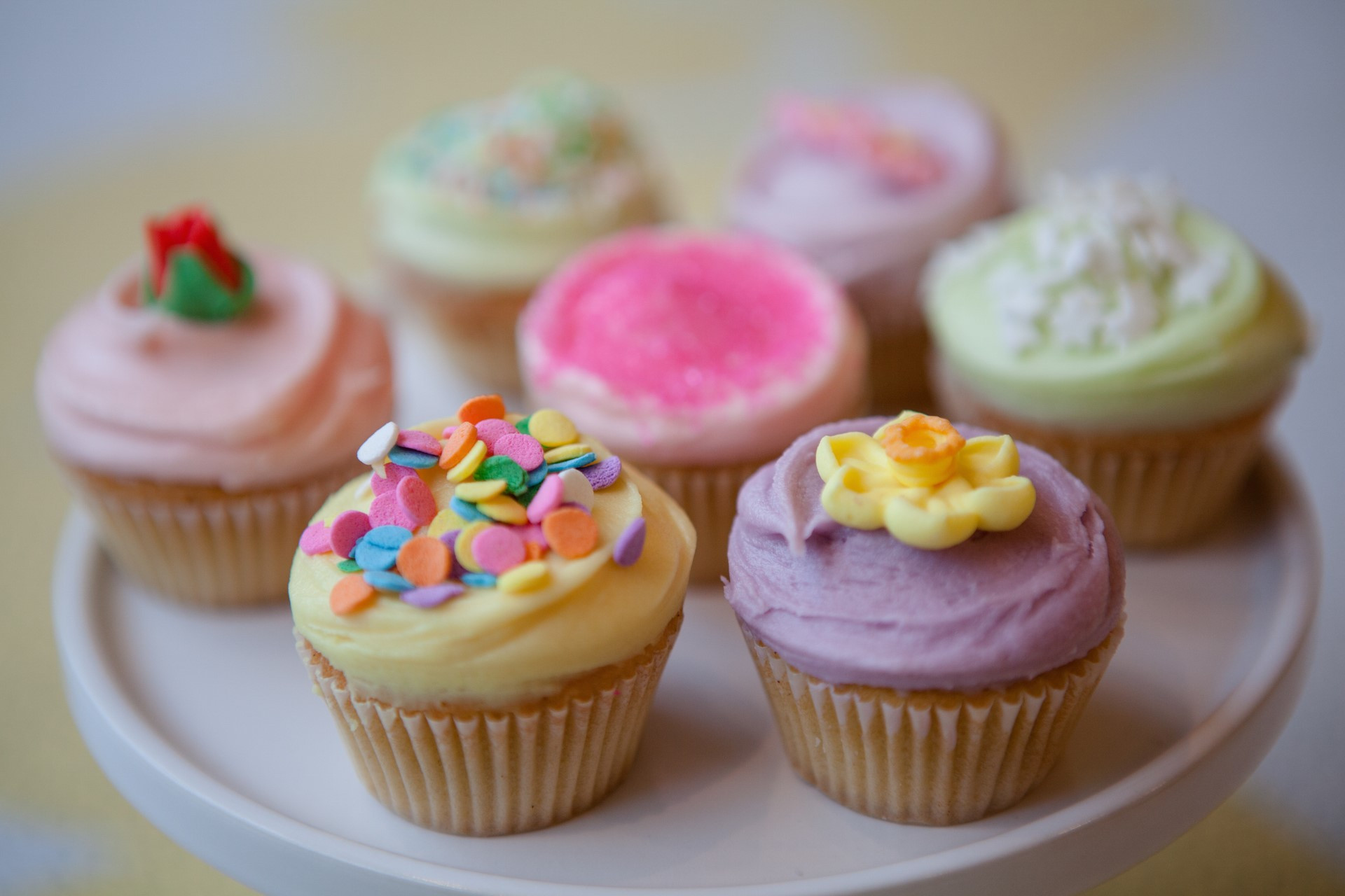 Mini Cupcakes Recipe  Summer Party Cake Recipes from Primrose Bakery Dorothy