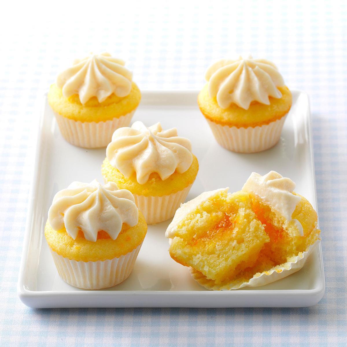 Mini Cupcakes Recipe  Orange Dream Mini Cupcakes Recipe