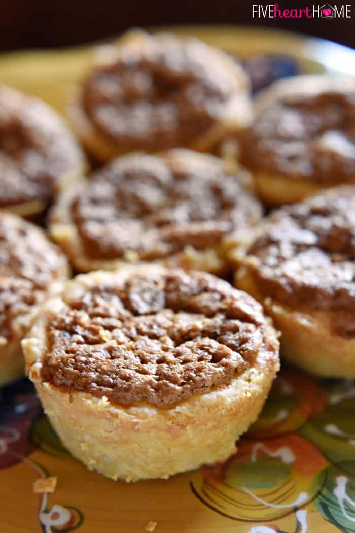 Mini Pie Recipes  Mini Pecan Pies