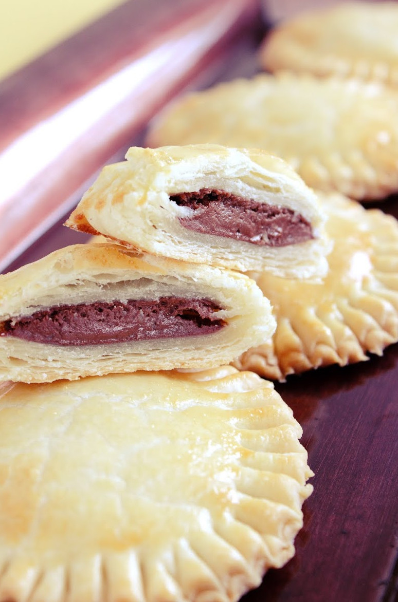 Mini Pie Recipes  Baked Nutella Mini Pies Recipe Getting Gorgeous In The