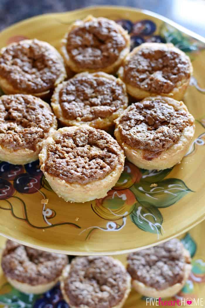 Mini Pie Recipes  pecan cups