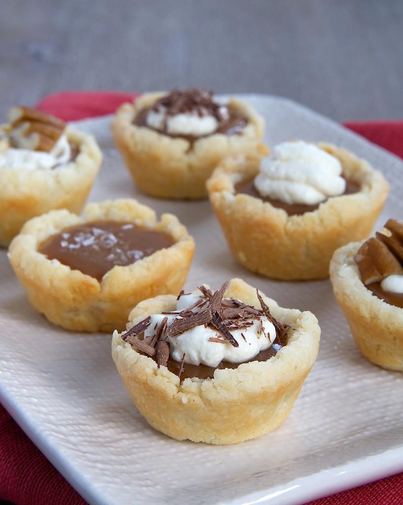Mini Pie Recipes  mini tart shell filling recipes