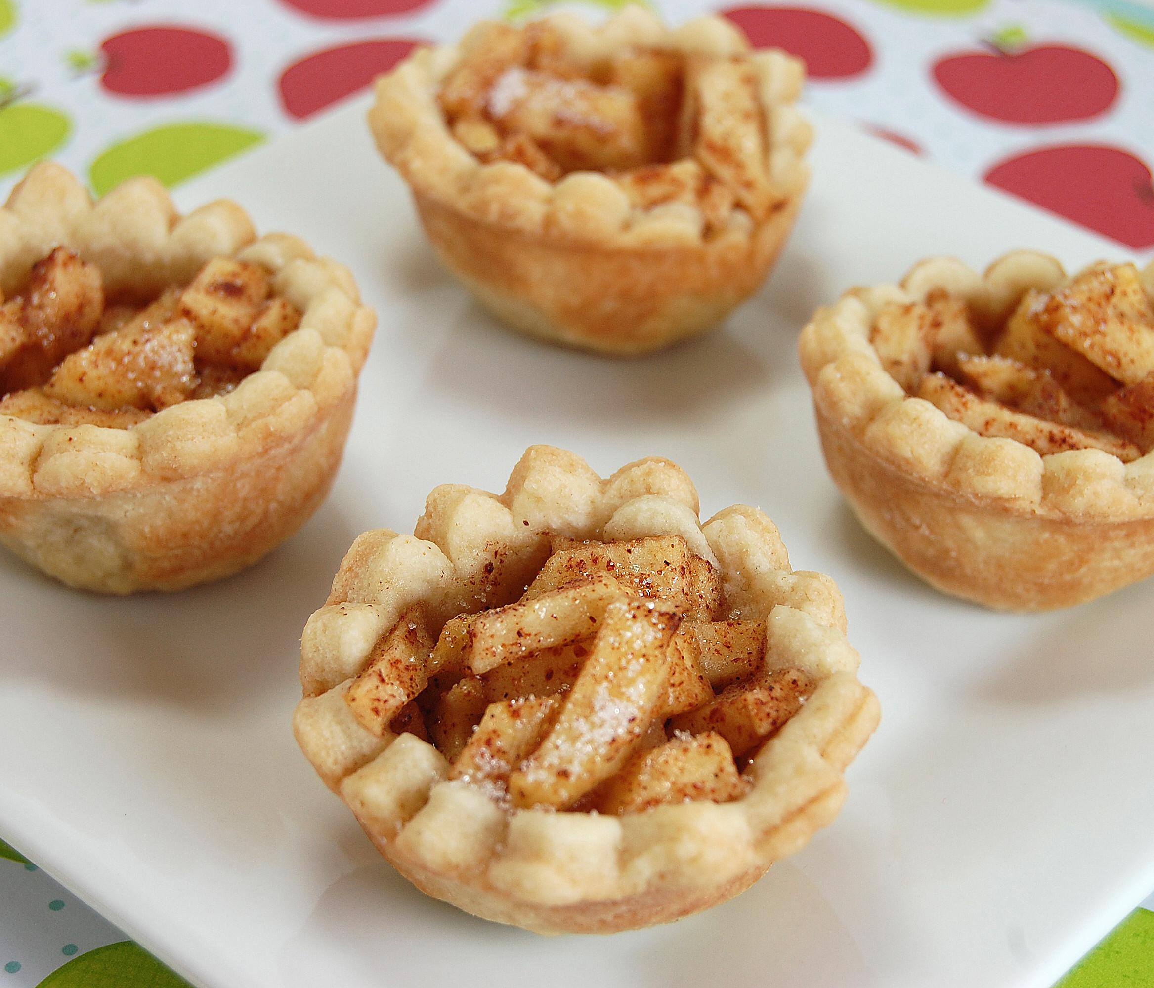 Mini Pie Recipes  Mini Apple Pies