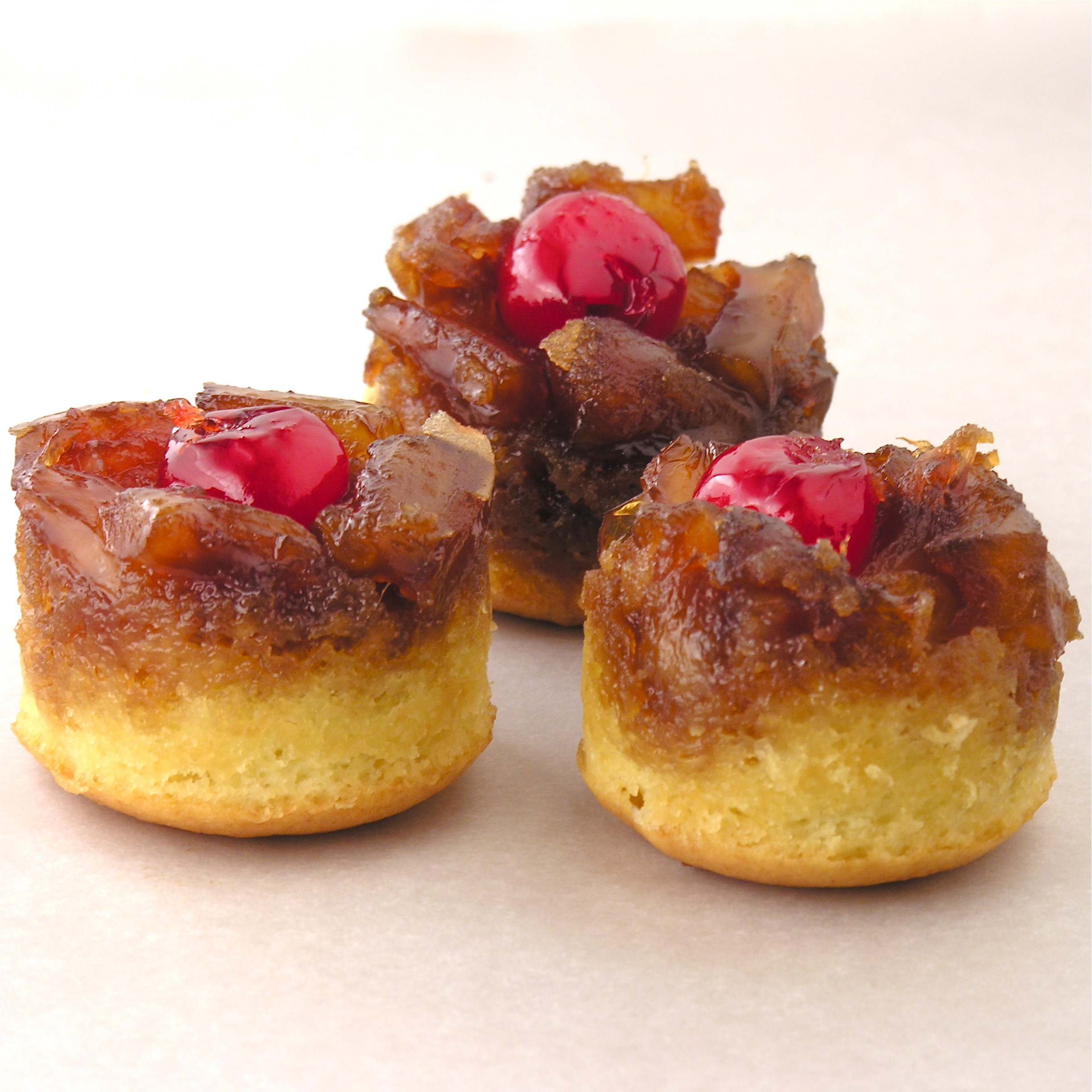 Mini Pineapple Upside Down Cake  Mini Pineapple Upside Down Cakes