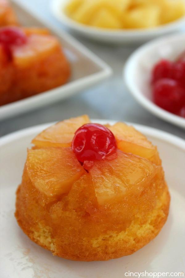 Mini Pineapple Upside Down Cake  Mini Pineapple Upside Down Cakes CincyShopper