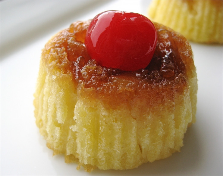 Mini Pineapple Upside Down Cake  Mini Pineapple Upside Down Cakes Sophisticated Gourmet