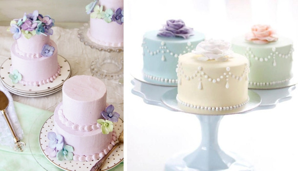 Mini Wedding Cakes  20 Individual Wedding Cakes