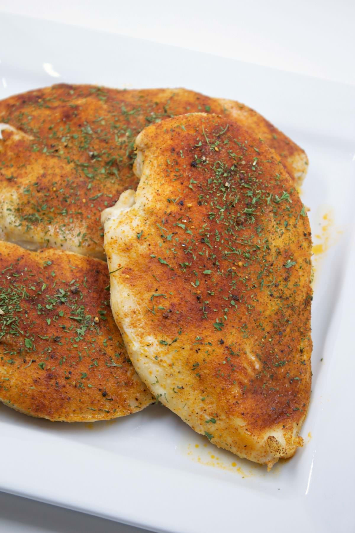 Moist Baked Chicken  Baked chicken breasts My Mommy Style