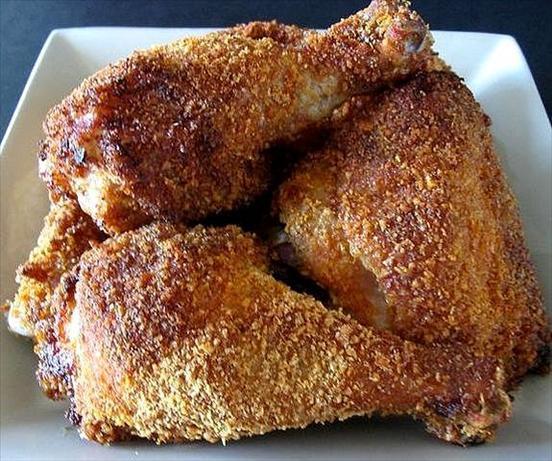 Moist Baked Chicken  Kittencals Crispy Coating Mix For Moist Oven Baked Chicken