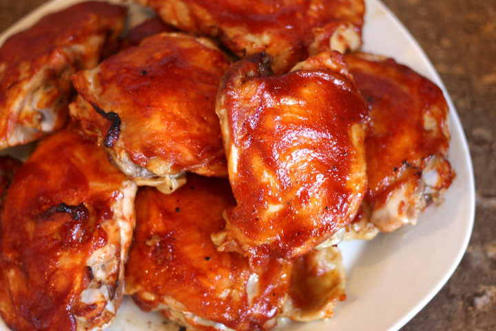 Moist Baked Chicken  Super Moist Oven Baked BBQ Chicken Quiet Corner