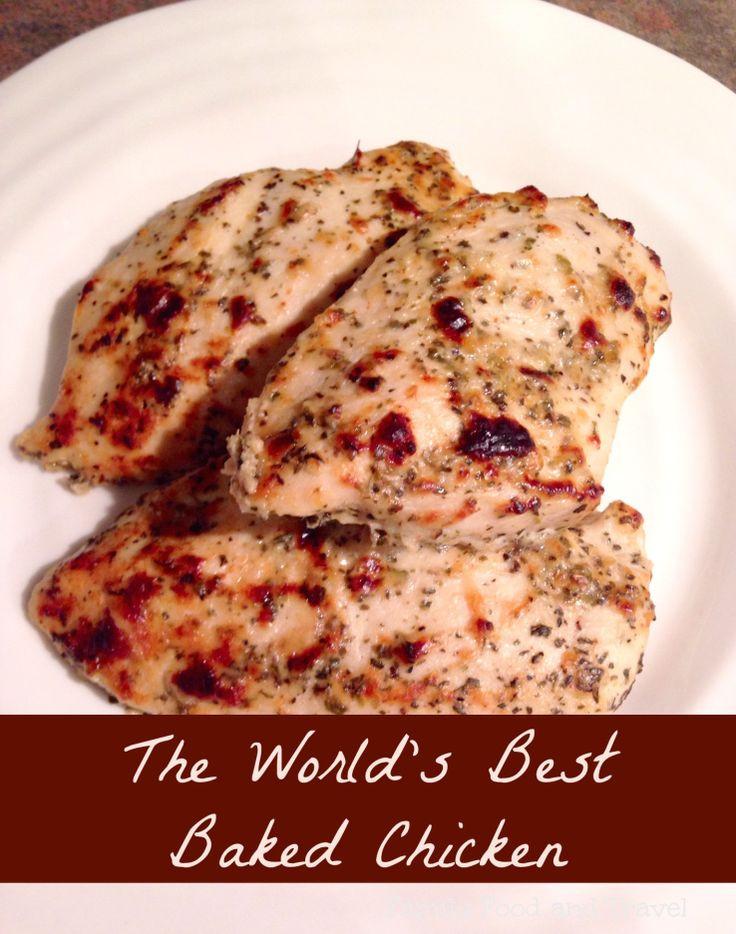 Moist Baked Chicken  Best 25 Moist baked chicken ideas on Pinterest