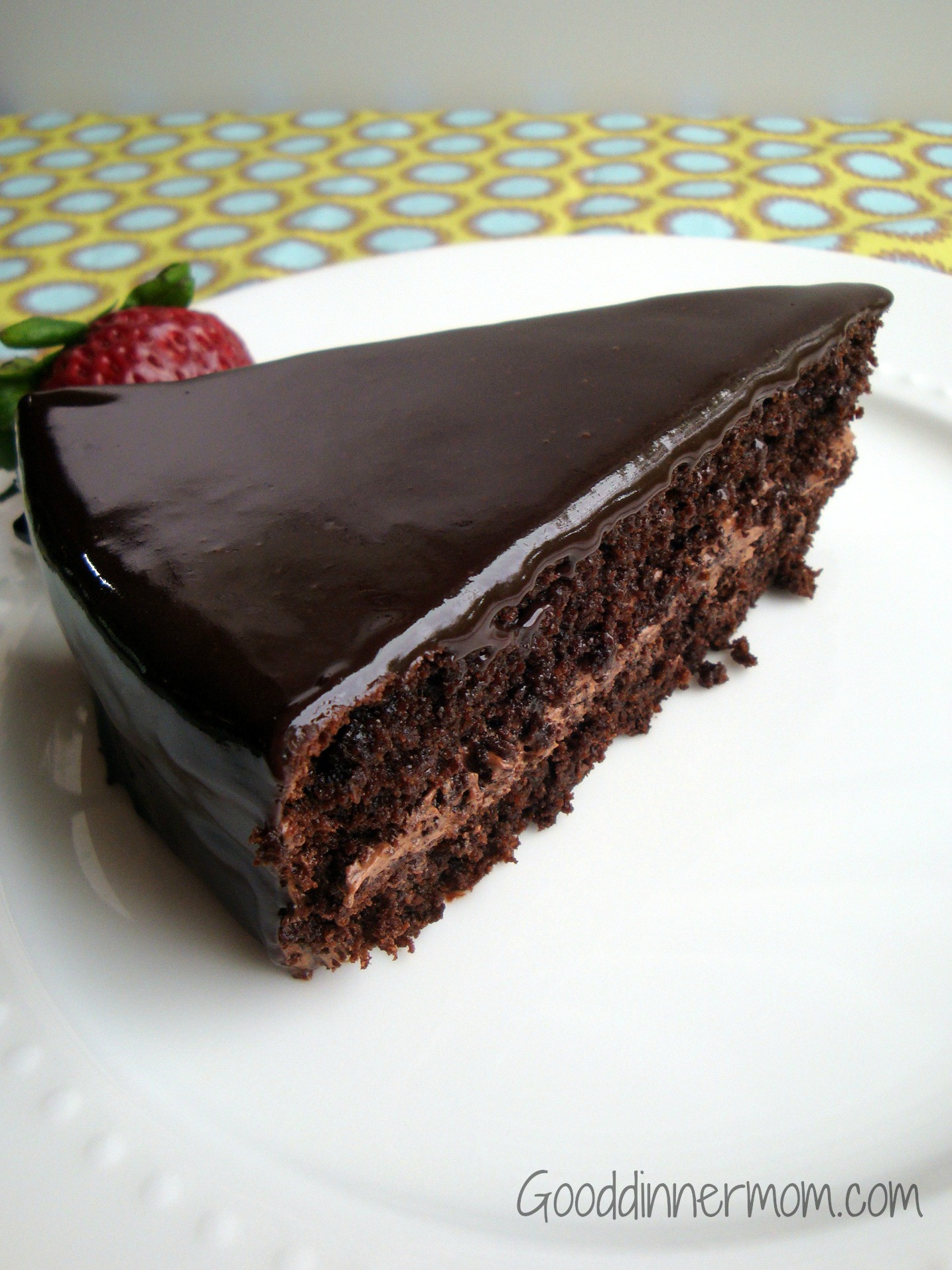 Moist Chocolate Cake  Good Dinner Mom
