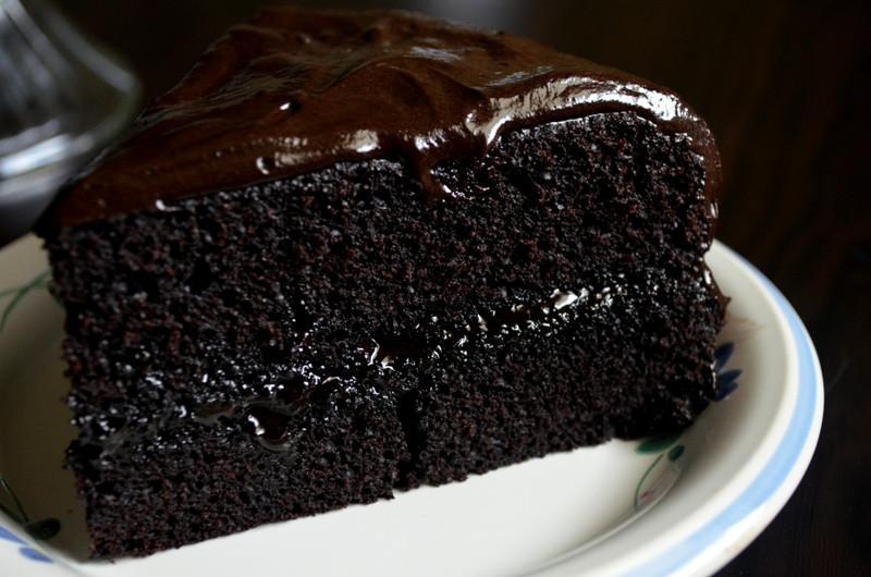 Moist Chocolate Cake  For the Love of Dessert Chocolate Fudge Cake