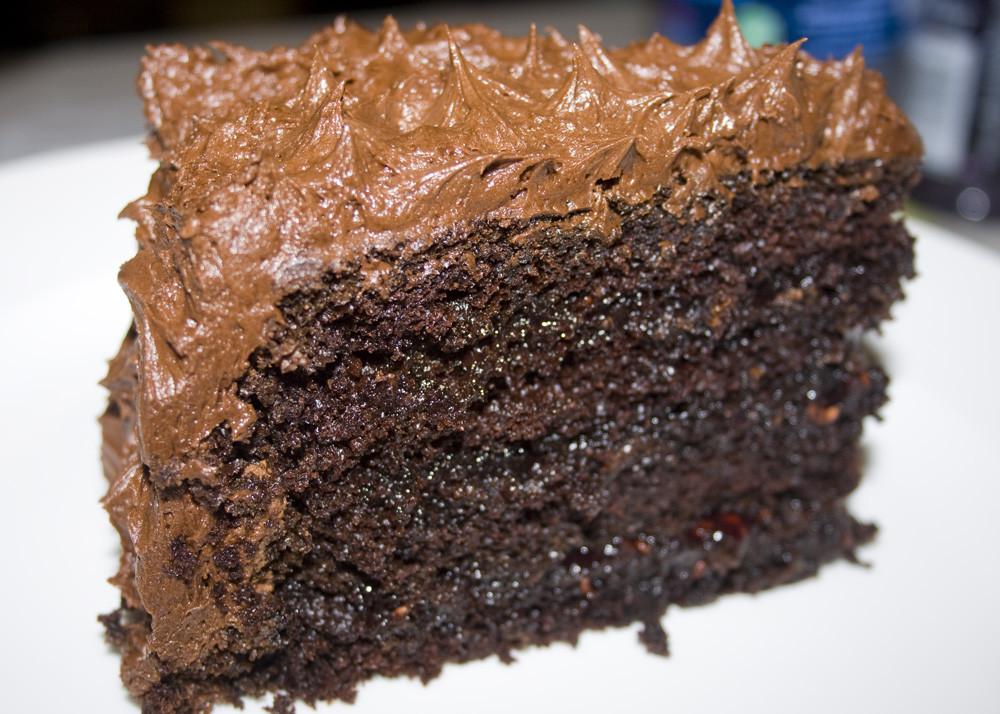 Moist Chocolate Cake  The Best Chocolate Cake I Ever Made