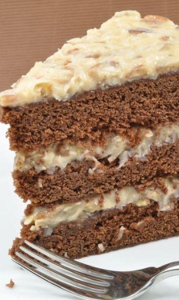 Moist German Chocolate Cake Recipe  30 best Indian & International Desserts Cakes & Cookies